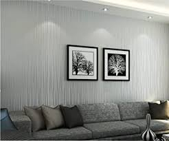 vliestapete vertikale streifen 3d silbernes grau tapete esszimmer kinderzimmer flur schlafzimmer wohnzimmer dekoration