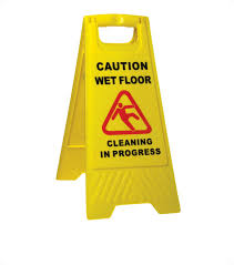 Caution Wet Floor Banana Sign by Warning Signs Safety Signs Wet Floor Signs
