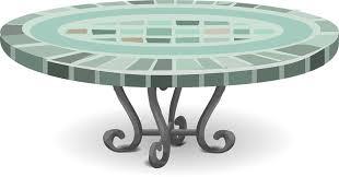 A Patio Table Clip Art