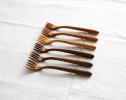 wooden utensils etsy