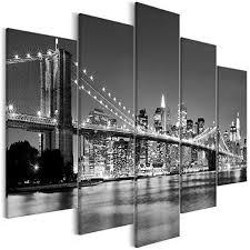 decomonkey bilder new york 225x100 cm 5 teilig
