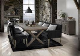 mehr komfort im esszimmer sofa und sessel am tisch