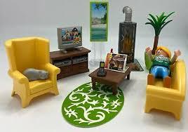 playmobil dollhouse wohnzimmer mit kaminofen 5308 eur 8