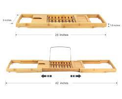100 bamboo bath caddy uk bathroom furniture luxury bathroom