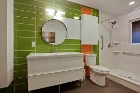 mid century modern bathroom tile ideas endearing mid century