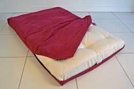 Decorating: Red Velvet Futon Cover For Lovely Furniture ...