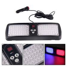 Super Bright Digital Dispily Flash Patterns 86 LED Car Truck Visor ...