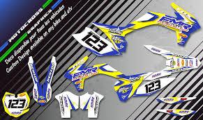 kit deco 85 yz kit déco perso mx motocross enduro kdmx designs fmr