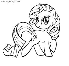 Full Image For My Little Pony Coloring Pages Applejack Baby On