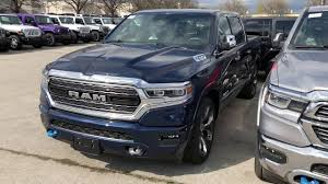 100 Blue Dodge Truck ALL NEW 2019 RAM IN PATRIOT BLUE Unique Chrysler Jeep Ram