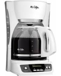 Mr Coffee CGX20 Digital 12 Cup Programmable Coffeemaker Machine Maker White