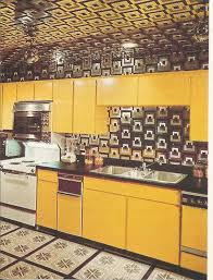 Vintage Home Decor 1970s Kitchens