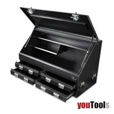 Truck Toolbox 1300 Mm 4-Drawer Heavy Duty Lockable T-bar Handle ... Brute Bedsafe Hd Truck Bed Tool Box Heavy Duty White Steel Toolbox 1500mm Industrial Ute With 2 Welcome To Trucktoolboxcom Professional Grade Boxes For Kincrome 3 Drawer 51085w Sale Items 0450 Protector Mobile Chest Pelican Buyers Products Company Diamond Tread Alinum Underbody Commercial Drawers Cheap Find Deals On Contractor Storage For Trucks Northern Equipment