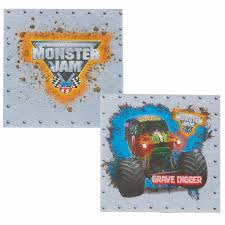 PARTY SUPPLY GUIDE - Monster Jam Birthdayexpress Monster Jam Party Supplies Pinata Kit 30off Truck Favors High For 8 Diy Decorations Luxury Braesdcom Amazoncom Printed Cake Decoration Candle Mudslinger Childrens Wall Poster Blaze And The Machines Monsters Amazmonster The Birthday Australia Its Fun 4 Me 5th Happy Lunch Napkins Perfect X Trucks Plates Boys Truckshaped Centerpieces Orientaltradingcom Justins