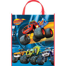 Large Blaze And The Monster Machines Goodie Bag   Blaze And The ... Monster Jam Birthday Party Parties Pinterest Amazoncom Nickelodeon Blaze And The Machines Party Favors Jam Love Blue Orange Checker Print Truck Decorations Instadecor Design Of Cakes Decoration Ideas Little Birthday Colors Supplies Target As Well Monster Truck 3d Pack Hot Wheels Set Plates Napkins Cups Kit For Invitations Lijicinu 58e55ff9eba6 High 8 Ultimate Pack Birthdays Kiddo Monsters