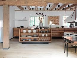 cuisine originale en bois cuisine moderne en bois 2