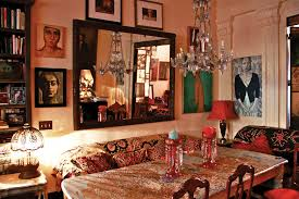 Gypsy Home Decor Book by Inside Daring Rooms By Courtney Love Julianne Moore And Lena
