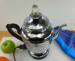 Farberware Chrome Super Speed Coffee Percolator Pot