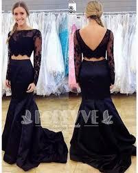online get cheap prom dress black 2 pieces aliexpress com