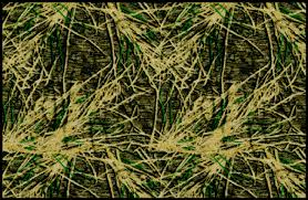 Ducks Unlimited Max 4 Floor Mats by Shadow Grass Mossy Oaks Brown U0026 Green Camouflage Nylon Area Rug