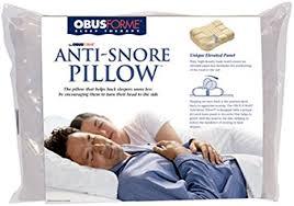 Amazon Obus Forme Anti Snore Pillow Health & Personal Care