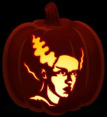 Walking Dead Halloween Stencils by Stencil Orange And Black Pumpkins Page 3