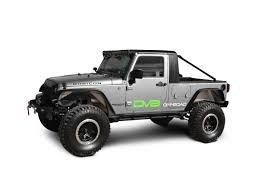 100 Jeep Wrangler Truck Conversion Kit DV8 OffRoad 0718 JK 4 Door