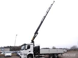 Used Mercedes-Benz -antos-2532-l-bradgardsbil Crane Trucks Year ...