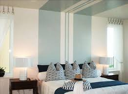 Bedroom Painting Design Striped Paint Canopy Freshome