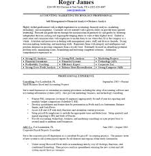Page 1 Professional Business Resume Sample