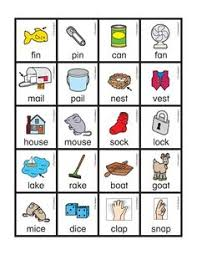 Free Rhyming Picture Cards With Words From The Mailbox Print In Color