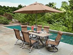 Agio Patio Furniture Sears by Ty Pennington Ss K 233nrset Palmetto 7 Piece Patio Dining Set