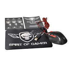 spirit of gamer elite m5 souris pc spirit of gamer sur ldlc