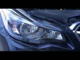 subaru impreza headlight replace 2011 2012 2013 2014
