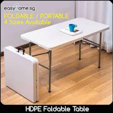 HDPE Foldable Table 1.2m / Computer Desk Office Event Dining ... White Chair Juves Party Events Wooden Folding Chairs Event Fniture And Celebration Stock Amazoncom 5 Commercial White Plastic Folding Chairs Details About 5pack Wedding Event Quality Stackable Chair Can Look Elegant For My Boda Hercules Series 880 Lb Capacity Heavy Duty With Builtin Gaing Bracke Mayline 2200fc Pack Of 8 Banquet Seat Premium Foldaway Utility Sliverylake Foldable Steel Rows Image Photo Free Trial Bigstock