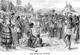Following The Abolition Of Slavery In British Empire Slaves On A West Indian Plantation