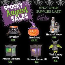 Pumpkin Scentsy Warmer 2013 by Wickless Allstars Scentsy Halloween Warmer Sale