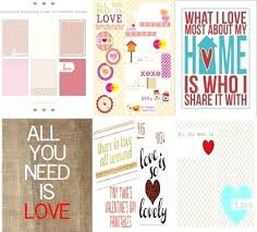 Template Monster Login In Love Printable Art Scrapbook