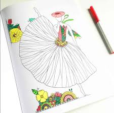 Color Couture A Stress Relieving Adult Coloring Book Artist Edition