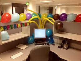 polka dot office birthday decoration we did this to a co workers