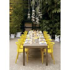 Modern Rustic Outdoor Table