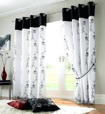 black white curtains teawing co