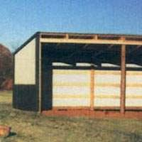 loafing shed kits oklahoma pole barns post frame metal building packages sutherlands