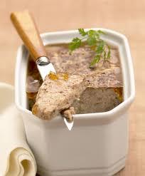 terrines et pâtés de nos terroirs cuisine française