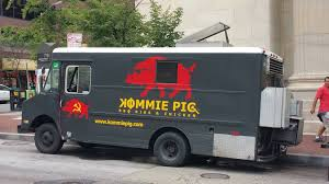 Eating On The Go: 10 Baltimore Food Trucks Not To Miss | Baltimore ... Toms Bbq Pig Rig Phoenix Food Trucks Roaming Hunger Our Second Food Truck Is Complete The Red Truffle A High Farmer John Pig Transport From Colorado To California 3104 Benjamin Radigan Elegant Truck Transport Semi Trailer Suppliers And Out Pigouttruckiowa Twitter Hauling Thousands Of Pigs Overturns On I40 Blocking Lanes Dog 96000 Prestige Custom Manufacturer Proper Smokehouse Inspired By Owners Vacation Pig Food Truck Its Seattle I Must Go Jolly Baltimore Sun