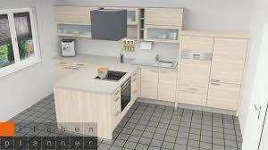küchenplanung helle halbinselküche in t form küchen