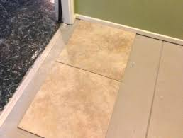 Thinset For Porcelain Tile On Concrete by Tile Over Painted Concrete Cannot Remove Paint What Are The