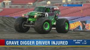 Grave Digger' Driver Injured During Monster Jam Performance At ... Grave Digger Wall Decal Shop Fathead For Monster Trucks Decor The Voice Of Vexillogy Flags Heraldry Flag The You Think Know Your Truck Facts Mutually Female Drives Monster Truck At Golden 1 Show Wiki Fandom Powered By Wikia Legend New Bright Rc Youtube Disney Babies Blog Jam Dc Amt Grave Digger Monster Jam Model Kit Unbuilt In Box Shutter Warrior Daredevil Driver Smashes World Record With Incredible