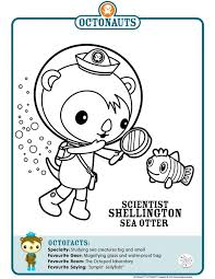 Octonauts Shellington Coloring Pages