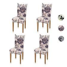 Amazon Set Of 4 Stretch Dining Room Chair Covers 1799 After Code Reg 2388